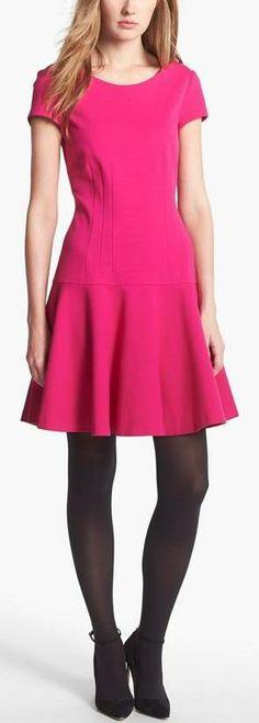 Diane von Furstenberg Knit A-Line Dress
