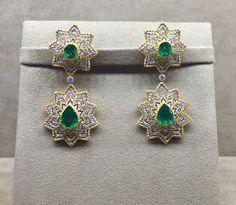 BUCCELLATI Gold N, Emerald, Jewelery, Fashion Accessories, Sparkle, Gems, Brooch, Drop Earrings, Bracelets
