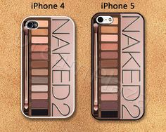 Naked 2 Make Up iPhone 4 Case, iPhone 4S Case, iPhone 5 Case, Hard Plastic Phone Cases, Cover for iphone, Please Choose Case Model on Etsy, $5.99