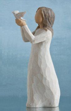Amazon.com: Willow Tree Soar Figurine, Susan Lordi 27173 By Demdaco: Home & Kitchen