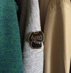 Image of Loner Sweater pin (hard enamel)