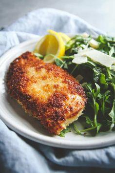 Salad Recipes Crispy Chicken and Arugula Salad Recipe – Sweetphi Argula Recipes, Arugula Salad Recipes, Gourmet Recipes, Dinner Recipes, Healthy Recipes, Turkey Recipes, Chicken Recipes, Pasta, Crispy Chicken