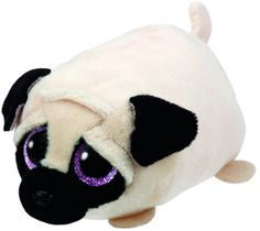Ty Beanie Teeny Tys Candy the Pug: Amazon.co.uk: Toys & Games