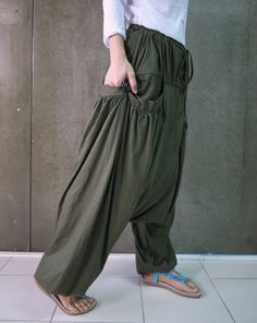 Plus Size Boho Zigeuner irre Hippie Ninja Harem von BeyondCloset