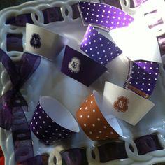 Mini cupcake wrappers.