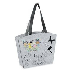 Cute felt tote bag for #NursesDay May 6th this year! #promotionalproducts