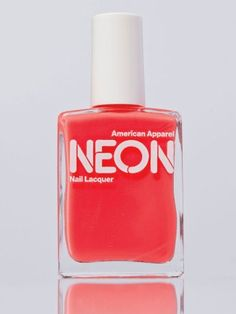 American Apparel - Neon Nail Polish