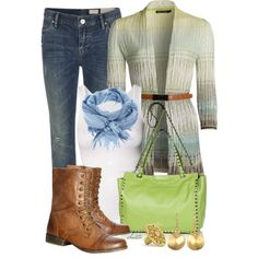 Fall Boots, created by christa72 on Polyvore
