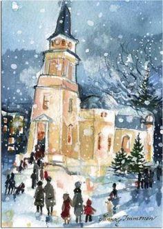 "Minna Immonen, Finland, ""Kaupungin joulu"", ""Christmas in Town"""
