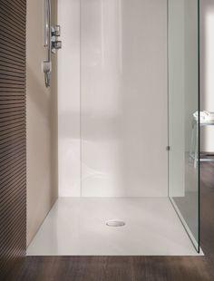 Piatto doccia filo pavimento rettangolare in acciaio smaltato SCONA Collezione Ambiente by Kaldewei Italia