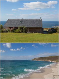The Hut Holiday Cottage - Gwynver Cornwall Airy Rooms, South West Coast Path, Exposed Beams, Lazy Days, Window Wall, Lifeguard, Dog Friends, Cornwall, Paths