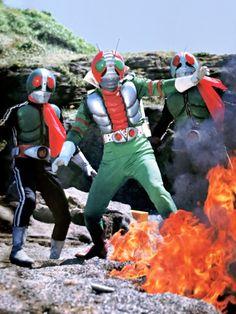 Japanese Superheroes, Showa Era, Kamen Rider, Godzilla, Movie Tv, Nostalgia, Monsters, Fictional Characters, Fantasy Characters