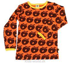 Småfolk - Orange m. Brune Æbler