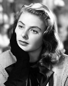 "classico-hollywood-glam: ""Ingrid Bergman"""