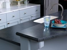 Wilsonart Black Alicante Black Laminate Countertopskitchen