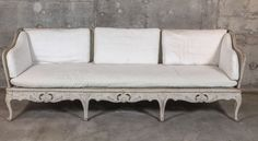 Swedish Rococo Sofa   From a unique collection of antique and modern sofas at https://www.1stdibs.com/furniture/seating/sofas/