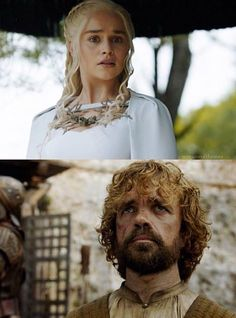 That EPIC moment when 2 of ur favourite GoT characters meet each other!!!!! #deanerys#tyrion
