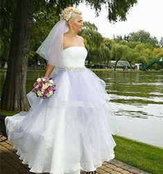 A lovely bride in a SinebySeila Creation! www.sinebyseila.com