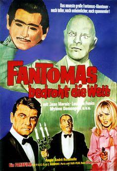 Fantomas bedroht die Welt - Fantômas contre Scotland Yard, F/I 1967
