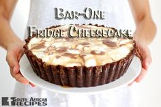 South African Recipes BAR-ONE FRIDGE CHEESECAKE (Marina Pape via Tracey Gobel Allen)