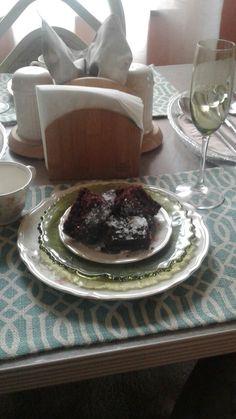 Moist chocolate beet cake