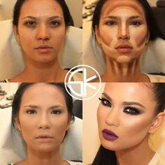 Makeup by Samer Khouzami. ♥ http://www.samerkhouzami.com/