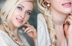 """Astrid braid hair tutorial from """"How to train your dragon"""" Criss cross ponytail hairstyle Ponytail Hairstyles, Diy Hairstyles, Stylish Hairstyles, Lilith Moon Hairstyles, Love Your Hair, Hair Photo, Clip In Hair Extensions, Hair Dos, Hair Designs"""