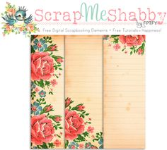Free Digital Scrapbook Paper: Commercial Use OK