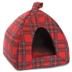 now fido can sleep in fun tartan style!