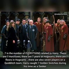 7..... A very powerful number... 7 weaslys... Will there be 7 potter kids?