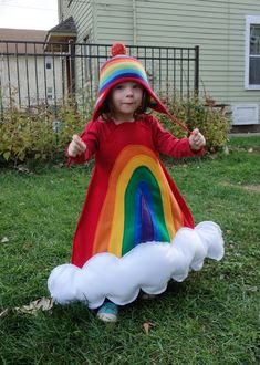 The cutest rainbow (costume) ever! - Emily Murphy, Pottery Blog