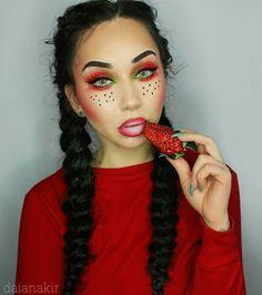 strawberry makeup daiana kir
