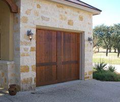 Nice residential overhead garage door.  (San Antonio, TX) Hollywood Crawford Door Company.