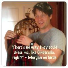 Ah, Morgan... You crack me up!