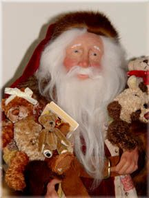 Santa and Friends, by Michelle Jewell Treichler