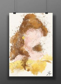 Abstract Belle Print | 27 Lovely Disney-Inspired Items Every Fan Should Own