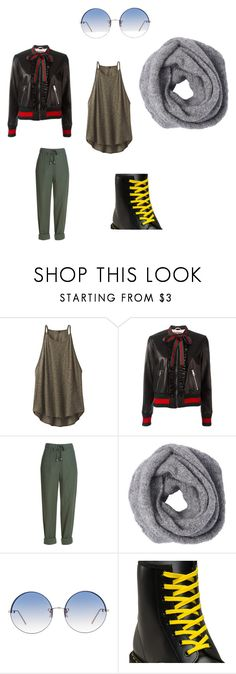 """""""only"""" by ninatsa on Polyvore featuring prAna, Gucci, Linda Farrow and Dr. Martens"""