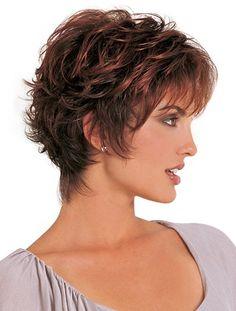 Classic Auburn Wavy Soft Synthetic Short Wigs,Short Wigs For Black Women 2015