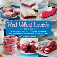 Red Velvet Gooey Butter Bars