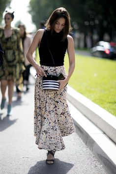 Après New York et Londres, les Fashionistas Ont Débarqué à Milan Jour 3 Maria Duenas Jacobs