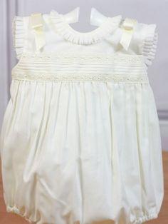 Pelele beige ceremonia Belan - Ropa de bebés - Les bébés