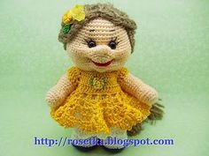 Free Amigurumi Doll Patterns In English : Free english crochet patterns amigurumi free english crochet