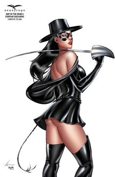 Day of the Dead #5 - Cover F Ale Garza Zorro Cosplay Girl in Mask with Sword
