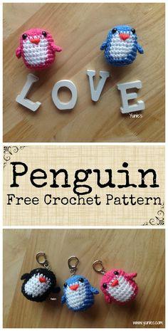 Free Crochet Pattern : Penguin