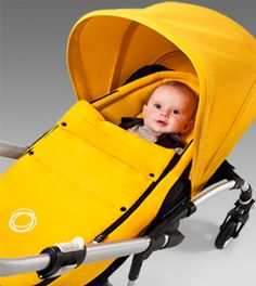 Yellow! Bugaboo Bee stroller
