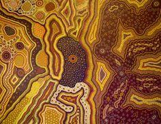 Baker Family Collaborative, Kanpi - Kalaya Tjukurpla, 2011, acrylic on canvas, 198 x 154 cm LR. For more Aboriginal art visit us at www.mccullochandmcculloch.com.au #aboriginalart #australianart #contemporaryart