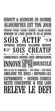 Traiborg - Member Home Page The Words, Cool Words, Positive Mind, Positive Attitude, Motivation, Miracle Morning, Quote Citation, French Quotes, Co Working