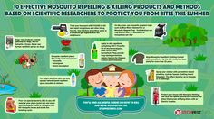 How to Get rid of mosquitoes? This infographic shows the best ways of killing mosquitoes. Visit: http://stoppestinfo.com/200-how-to-get-rid-of-mosquitoes-infographic.html