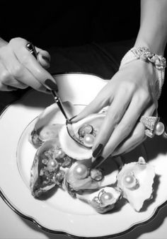 Pearls and oysters
