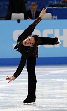 高橋の演技 | Takahashi Daisuke | Sochi 2014 Men's SP